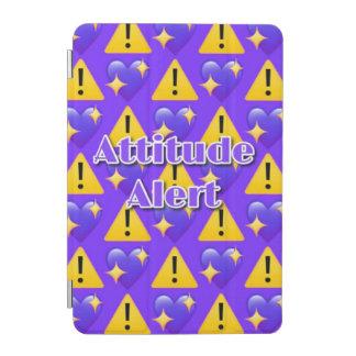 Attitude Alert (Purple) iPad mini Smart Cover iPad Mini Cover