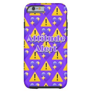 Attitude Alert (Purple) iPhone 6/6s Phone Case