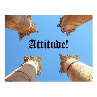 Attitude, Attitude! Postcard