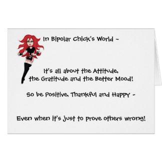 Attitude Card