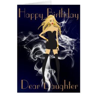 ATTITUDE  DAUGHTER GREETING CARD
