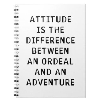 Attitude Difference Notebooks