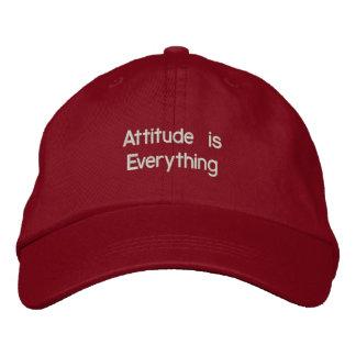 Attitude Embroidered Hat