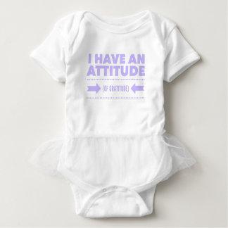 Attitude Gratitude Recovery Detox AA Baby Bodysuit