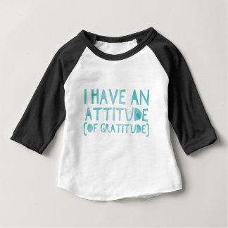 Attitude Gratitude Recovery Detox AA Baby T-Shirt