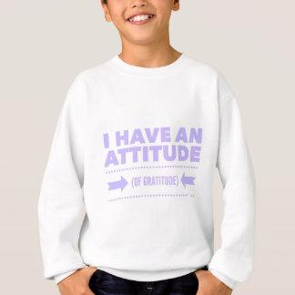 Attitude Gratitude Recovery Detox AA Sweatshirt
