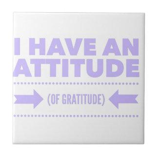 Attitude Gratitude Recovery Detox AA Tile