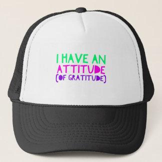 Attitude Gratitude Recovery Detox AA Trucker Hat