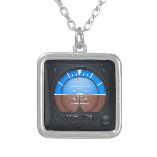 Attitude Indicator Necklace