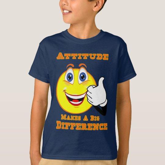 Attitude Inspirational  Kids Tshirt