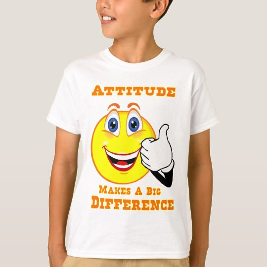Attitude Inspirational Youth Tshirt