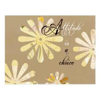 Attitude is a Choice Postcard