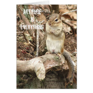 Attitude is Everything Card