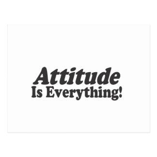 Attitude Is Everything! Postcard