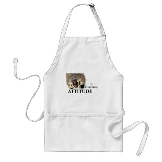 Attitude is everything standard apron