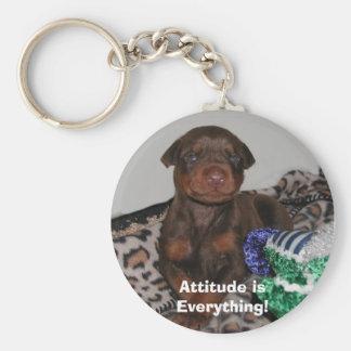 Attitude isEverything! Keychain