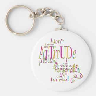 Attitude - Keychain