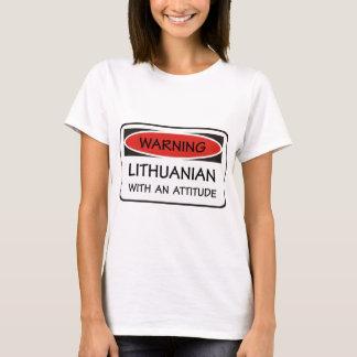 Attitude Lithuanian T-Shirt