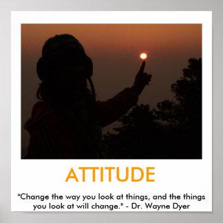 ATTITUDE motivational poster