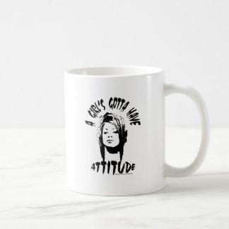 Attitude! Coffee Mugs