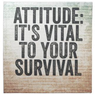 Attitude Napkin