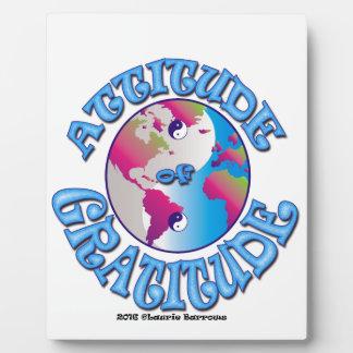 Attitude of Gratitude Plaque