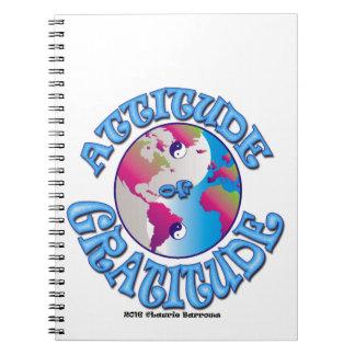 Attitude of Gratitude Spiral Notebook