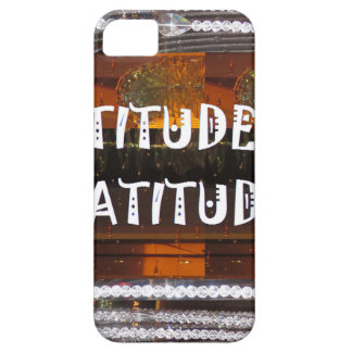 ATTITUDE of Gratitude  Text Wisdom Words iPhone 5 Covers