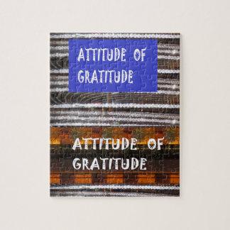 ATTITUDE of Gratitude  Text Wisdom Words Puzzle