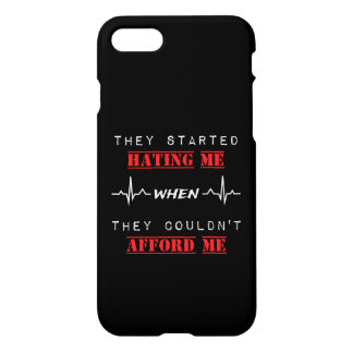 Attitude Quote On Custom iPhone 7 Glossy Case