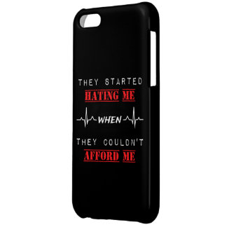 Attitude Quote on iPhone 5C Glossy Finish Case Cover For iPhone 5C