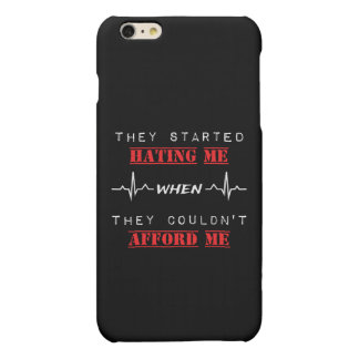 Attitude Quote On iPhone 6/6s Plus Matte Case
