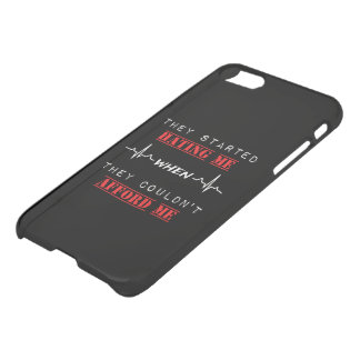 Attitude Quote on iPhone 7 Clearly™ Deflector Case