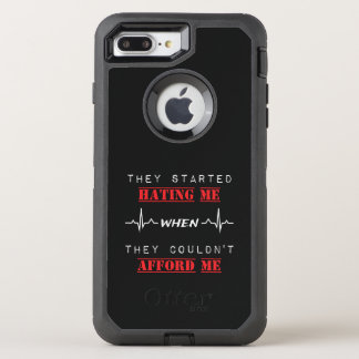 Attitude Quote on OtterBox Apple iPhone 7 PlusCase