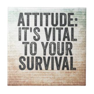 Attitude Tile