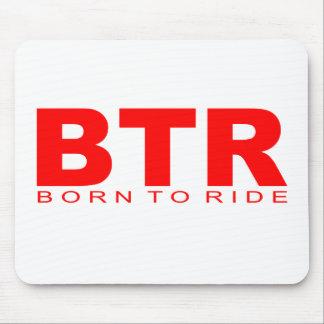 """Attitudes - """"Born To Ride"""" Mouse Pad"""