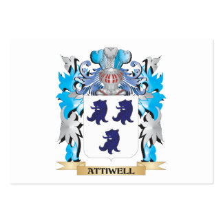 Attiwell Coat Of Arms Business Card Templates