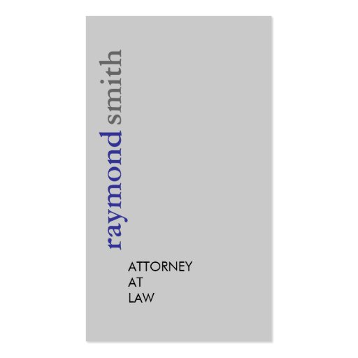Attorney at Law - Business Cards
