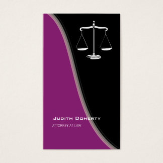 ATTORNEY AT LAW | Classy Business Card