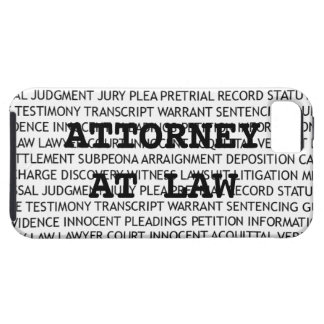 Attorney at Law Legal Terminology iPhone 5 Case