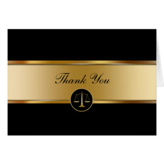 Attorney Business Thank You Cards