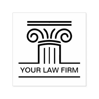 Attorney Company Logo Emblem Self-inking Stamp
