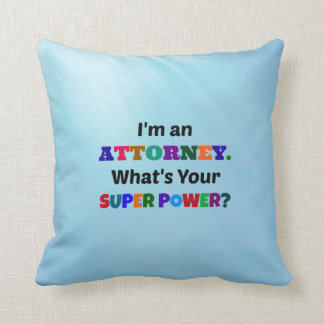 Attorney Humor Throw Pillow
