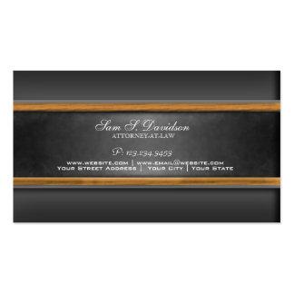 Attorney Law Firm Lawyer Chalkboard Business Card
