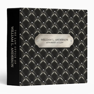 Attorney Law Office Lawyer Leather Print binder