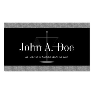 Attorney Lawyer Law Firm Blue Marble Black Banner Business Card Template