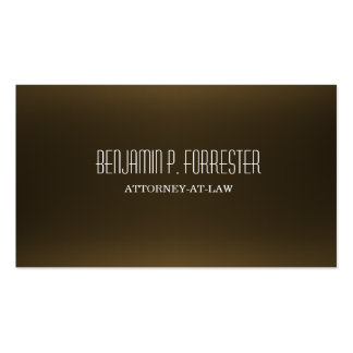 Attorney Lawyer Law Firm Business Card