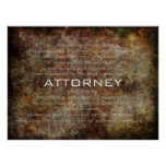 Attorney Posters