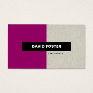 Attorney - Simple Elegant Stylish Business Card