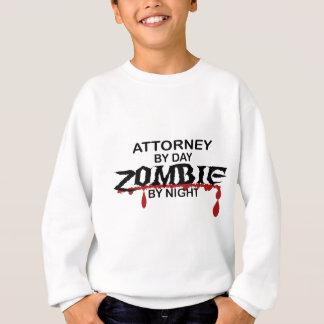 Attorney Zombie Sweatshirt